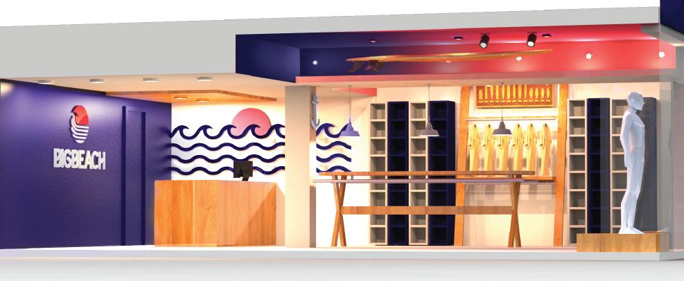 Projeto de Design de Comunicação na Big Beach